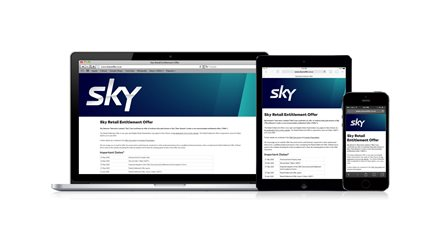 Sky Retail Entitlement Offer