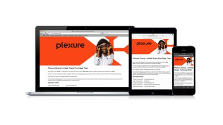 Plexure Group Share Purchase Plan